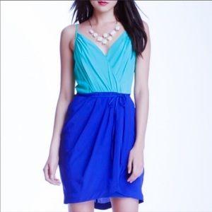 Yumi Kim Jayne Blue Tulip Skirt Dress